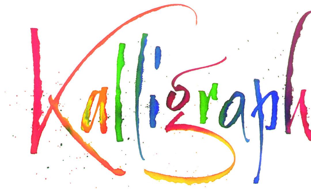 Kalligrafie Kurs Ziehfeder mit Thomas Hoyer